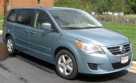 vw minivan best cars information volkswagen routan