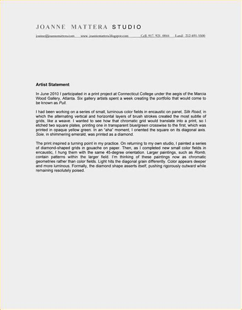 artist statement template artist statements exles artists statement 1 jpg