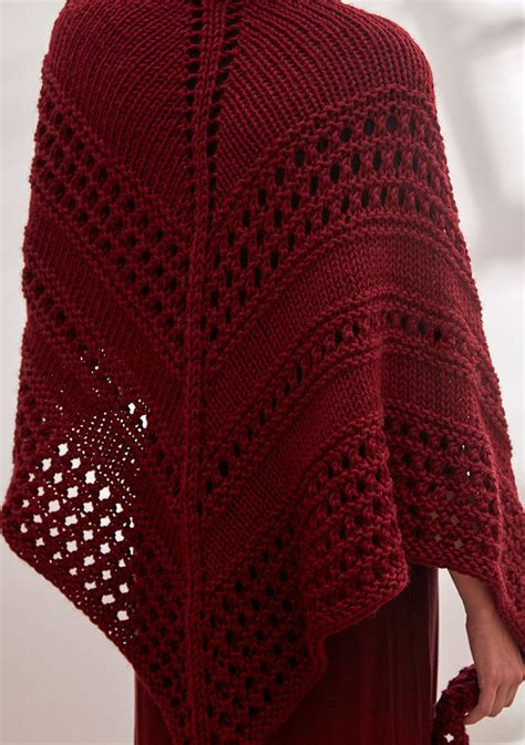 pattern for triangle shawl shawls for bulky yarn knitting patterns in the loop knitting