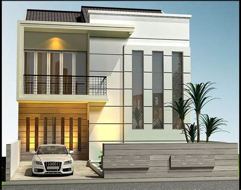 desain atap rumah kotak gambar desain rumah berbentuk kotak contoh hu