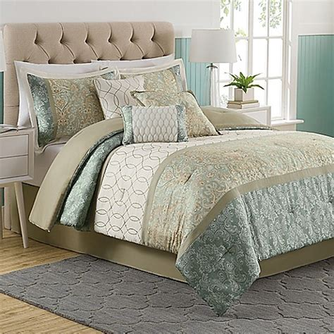Dorado 7 Piece Comforter Set Bed Bath Beyond Bed Bath Beyond Comforter Sets
