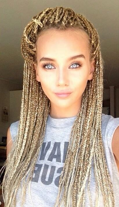 braids brown fashion girls hair image 4010776 by hellylife hair pinterest hair style makeup and
