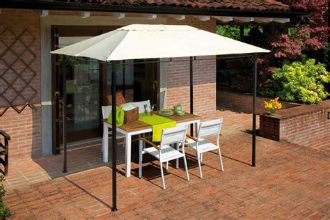 gazebo piccolo gazebo pergola 4x3 giardino terrazza top design telo