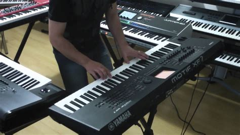 Keyboard Yamaha Roland yamaha motif xf korg kronos nord stage 2 roland jupiter 80 the four best keyboards