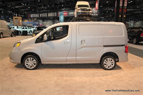 nissan cargo van 2014 nissan nv200 cargo van 1 the truth about cars