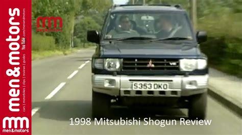 mitsubishi shogun 1998 1998 mitsubishi shogun review