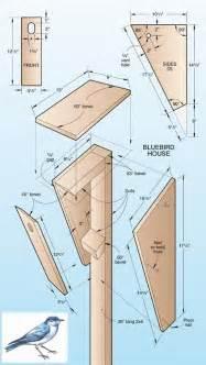 Bluebird House Plans Patterns Wood Magazine Bluebird House Build It