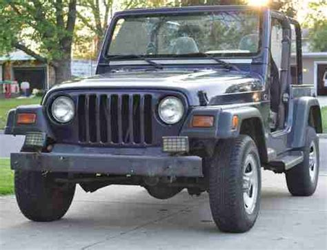 4cyl Jeep Wrangler Mpg Find Used 1997 Jeep Wrangler Tj 4 Cylinder 5 Speed 4x4 4wd