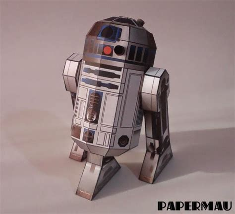 Wars Papercraft Models - papermau wars r2d2 paper model by disney family