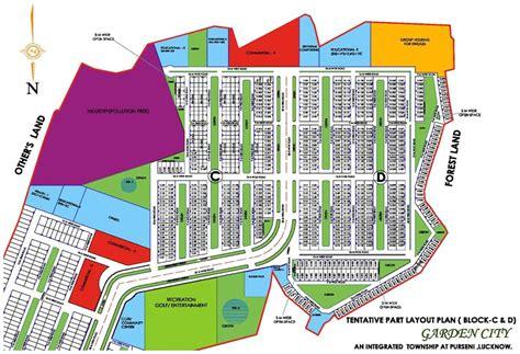 layout plan of garden city layout plan dlf garden city lucknow an residential