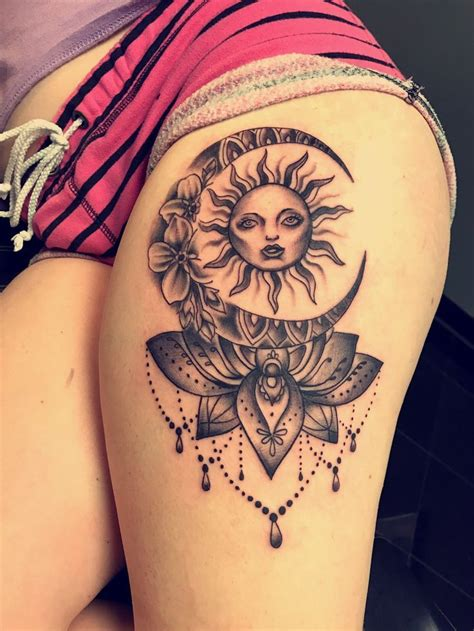 tattoo designs sun and moon image result for sun and moon tattoos