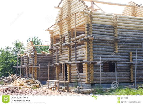 building eco wooden house round logs wooden houses building of blockhouse wooden housing construction