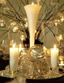 ideas for winter wedding centerpieces