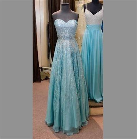 Dress Frozen Blue j711 frozen snow elsa costume door angelssecret
