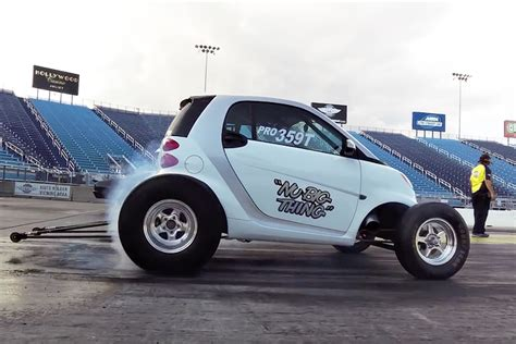V8 Smart Car by This V8 Smart Car Run The Quarter Mile In 9 Seconds