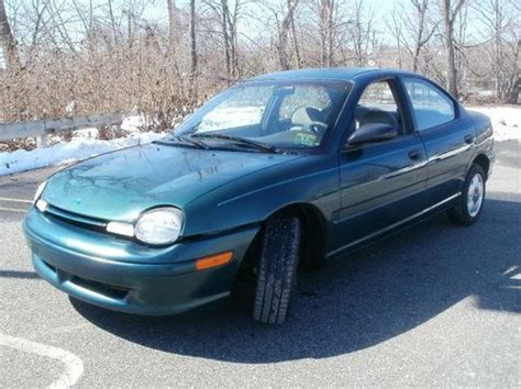 savers plymouth find used 1995 plymouth neon low cheap commuter car