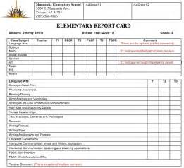 Elementary Report Card Template Parent Attendance Survey Trend Home Design And Decor