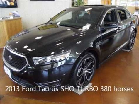 2013 Ford Taurus Hp by 2013 Ford Taurus Sho 3 5l Ecoboost Turbo Engine 380 Hp