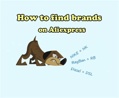 aliexpress brands how to find brands and codes on aliexpress brand finder