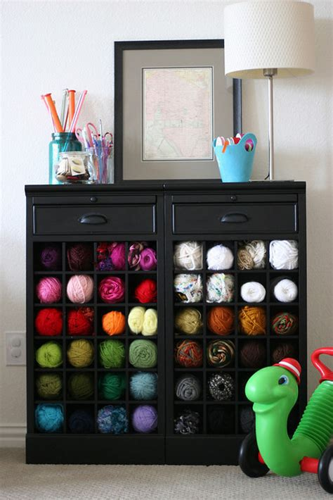 Yarn Storage Furniture 13 in 2013 yarn storage solutions craft storage ideas