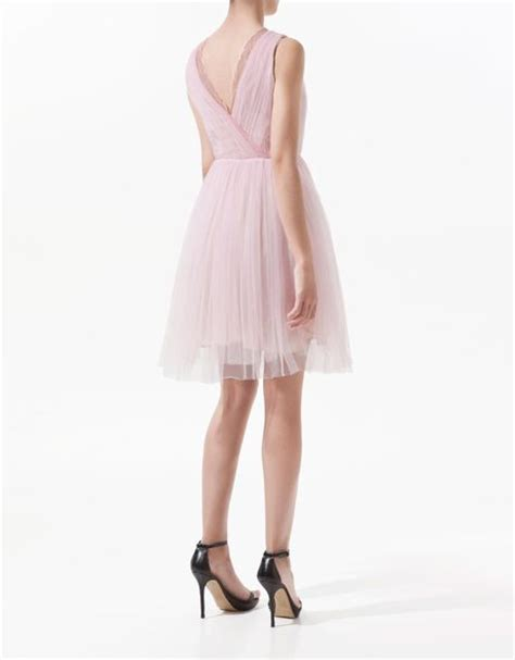 Zahra Pink Dress by Zara Tulle Dress In Pink Lyst