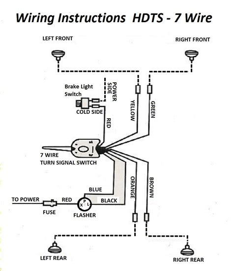 rod wiring diagram light and signals wire diagram