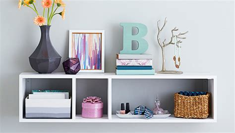 diy bedroom wall shelves wall mounted shelf with storage