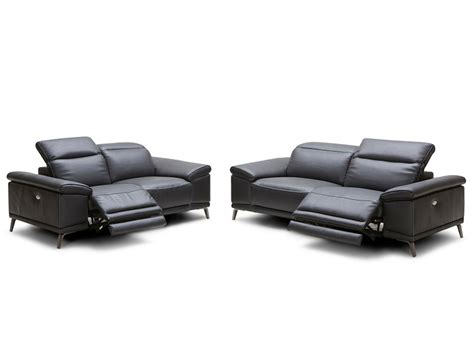 Modern Leather Reclining Sofa Italian Leather Electric Reclining Sofa Okaycreations Net
