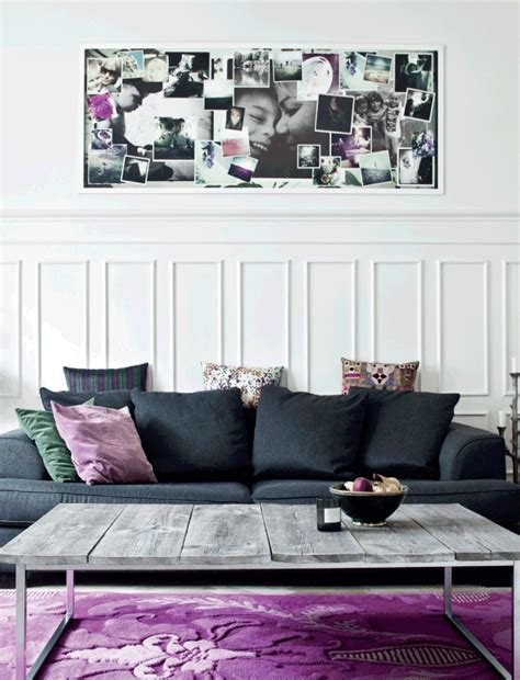 cool home with purple accents daily decor