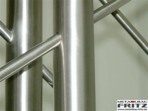 treppengeländer edelstahl außen metallbau fritz edelstahl treppengel 228 nder innen 04 05