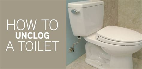 How To Unclog Plumbing How To Unclog A Toilet Mr Rooter