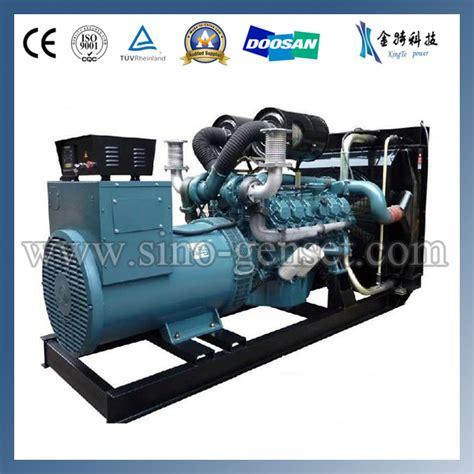 doosan daewoo diesel generator by kingte power machinery