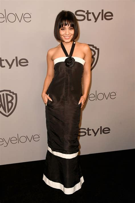 In Style And Warner Bros 2007 Golden Globe After by Hudgens At Instyle And Warner Bros Golden Globes