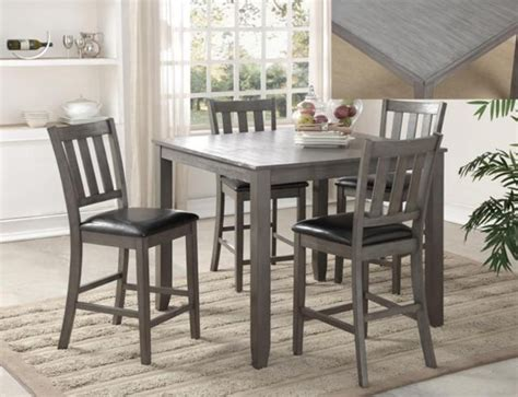 counter high table set counter height tables