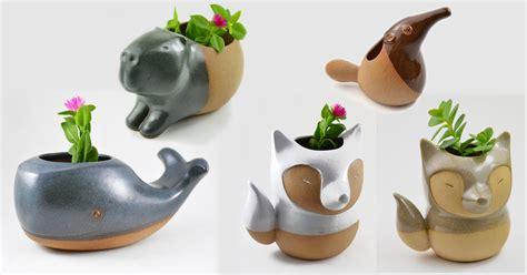 animal planters handmade ceramic animal planters by cumbuca chic colossal