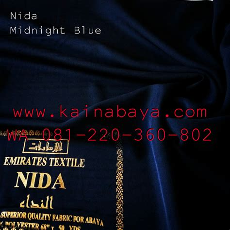 Abaya Bahan Fursan 6 kain nida warna nada nidha fursan impor import baros