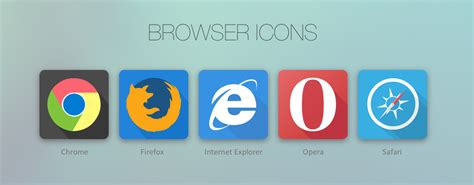 best free browser 2014 7 flat design web browser icon sets web resources