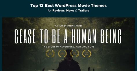 best themes in film the 13 best wordpress movie themes for 2018 compete themes