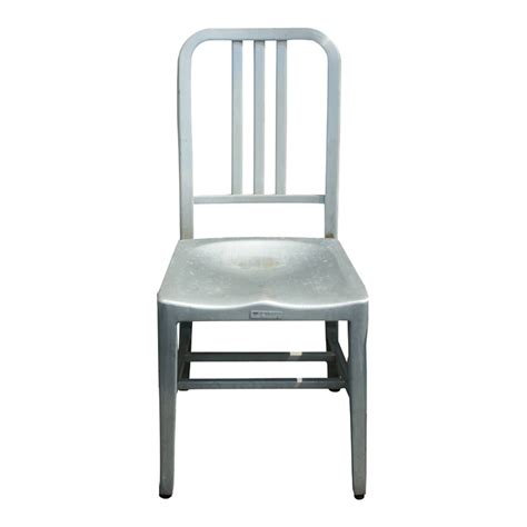 Aluminum Chair 1 general fireproofing vintage aluminum side chair ebay