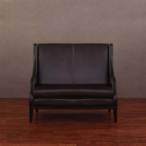 Lummi Dark Brown Leather High Back Loveseat By I Love Leather Sofa And Loveseat Deals
