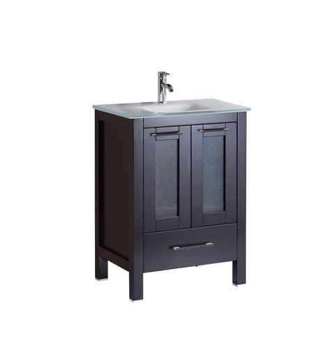 24 inch bathroom vanity cabinet serpens 24 inch espresso vanity ak trading home options
