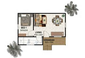 1 Bedroom Guest House Floor Plans country farmstay diy kit home retirement package living