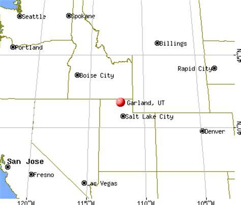 garland utah map garland utah ut 84312 profile population maps real