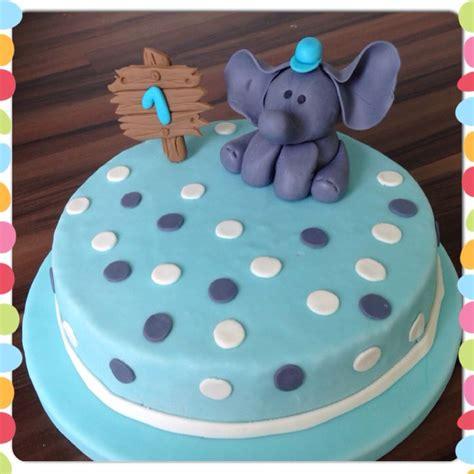 elefanten kuchen elefant fondant torte 1 geburtstag elephant cake