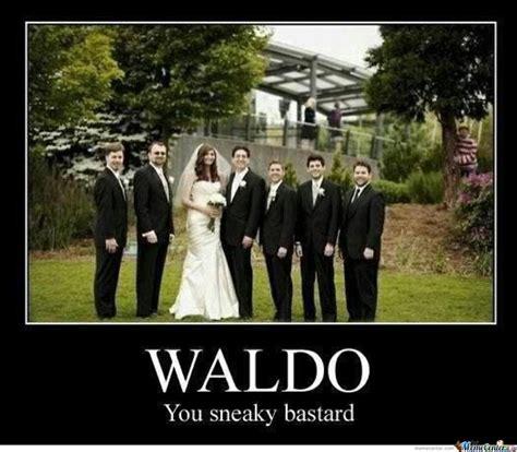 Waldo Meme - waldo photobomb by harlequinrising meme center