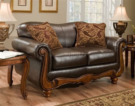 traditional leather couch traditional leather sofa set melange traditional leather