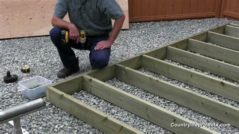 how to build a shed 3 the country living
