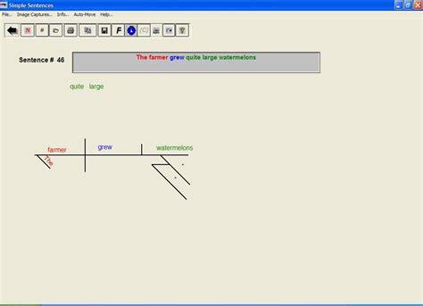 diagramming sentences software diagramming simple sentences best free home design