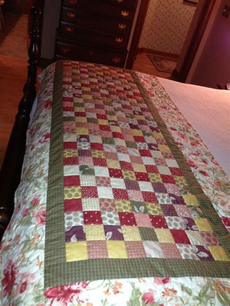 Bed Runner Quilt by Bed Runner I Want To Make A Black White One For Guest