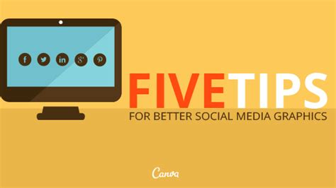 better social media 5 tips for better social media graphics